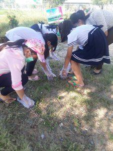 Một buổi lao động của học sinh