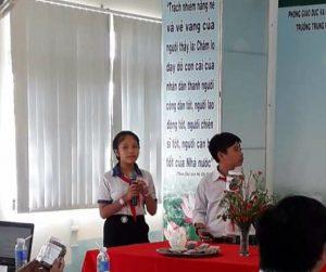 Dự án Trà hoa đậu của THCS TCS