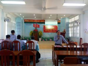 Ông Lê Thanh Long - PTP GDĐT phát biểu khai mạc